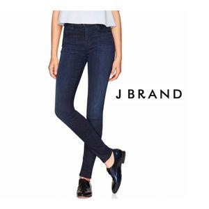 NEW J Brand Maria High Rise Skinny Jeans Darkness